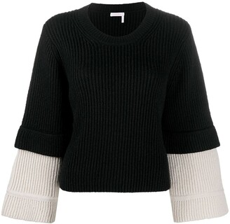 See by Chloe Knitted Wide Sleeve Jumper