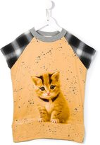 Anne Kurris - 'Jane' punk kitty dress - kids - Cotton/Rayon - 6 yrs