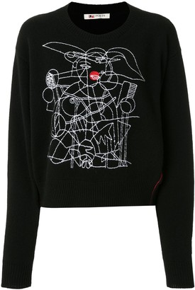 Ports 1961 Embroidered Jumper