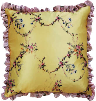 Preen by Thornton Bregazzi Printed Silk-Satin Pillow