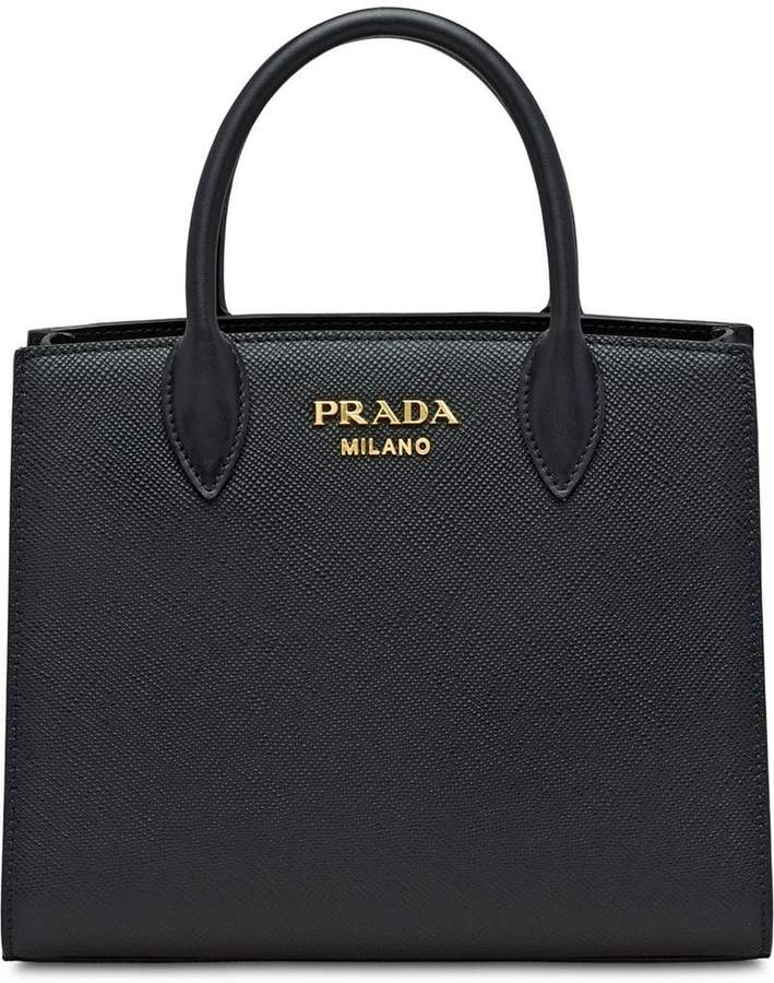 2267b3735936 Prada Saffiano Leather Top Handle Bag - ShopStyle