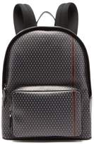 Dunhill - Engine Turn Technical Canvas Backpack - Mens - Grey