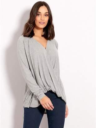M&Co Vero Moda wrap drape top