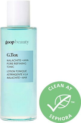 Goop G.Tox Malachite and AHA Pore Refining Tonic