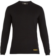 Fendi Bag Bugs-intarsia Wool Sweater