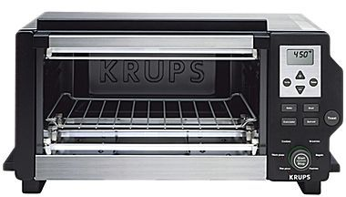 Krups Black & Stainless Steel Toaster Oven