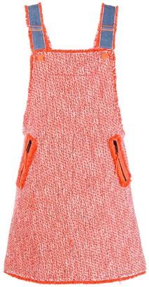 Sjyp Tweed Overall Dress