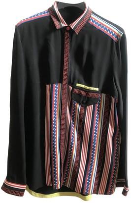 Gianni Versace Black Silk Dresses