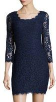 Diane von Furstenberg Zarita Lace V-Back Dress