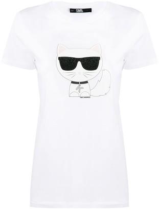 Karl Lagerfeld Paris Ikonik Choupette T-Shirt