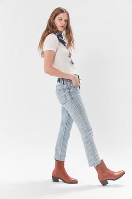 Daze Denim High-Waisted Cropped Flare Jean Shy Girl