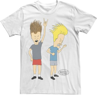 N. Licensed Character Men's Beavis and Butt-Head Rock Rollers Tee