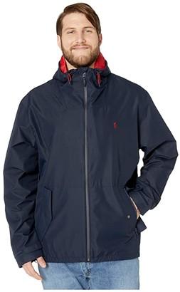 Polo Ralph Lauren Big & Tall Big Tall Outerwear Active Windbreaker Jacket (Aviator Navy) Men's Clothing