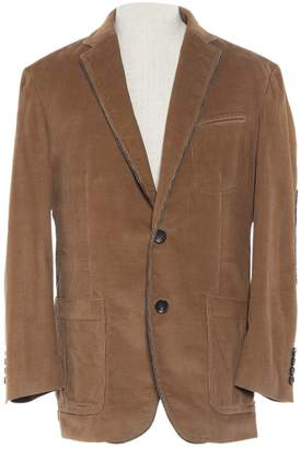 BOSS Brown Cotton Jackets