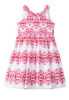 Oscar de la Renta Girls' Printed A-Line Dress