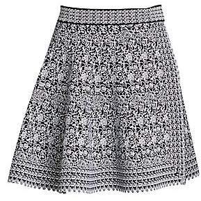 Alaia Women's Labyrinth Knit Short Skirt