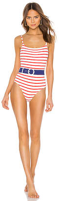 Solid & Striped Nina Belted One Piece