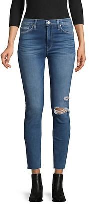 Hudson High-Rise Destroy Skinny Jeans