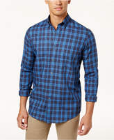 Club Room Men's Plaid Shirt, Created for Macy's
