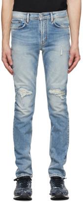Acne Studios Blue Distressed Jeans