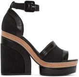 Pierre Hardy Black Denim Charlotte Sun Sandals