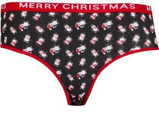 Fluid Womens Christmas Briefs Multi