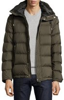 Burberry Basford 2-in-1 Puffer Jacket, Olive