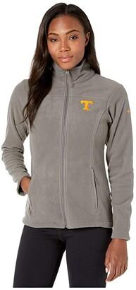 Columbia College Tennessee Volunteers CLG Give and Gotm II Full Zip Fleece Jacket (Charcoal) Women's Fleece
