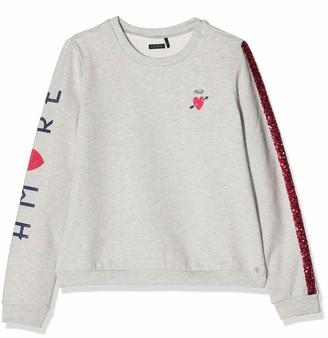 Ikks Junior Girl's Sweat Molleton Amore/Sequins Sweatshirt