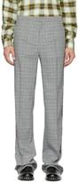 Faith Connexion Grey Kappa Edition Check Trousers