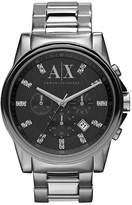 Armani Exchange Mens Diamanté Detail Sports Watch