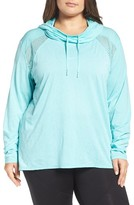 Zella Plus Size Women's Adventure Hooded Pullover