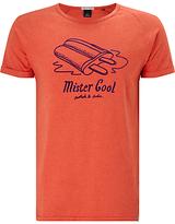 Scotch & Soda Mister Cool Ice Lolly T-shirt, Blazing Red Melange
