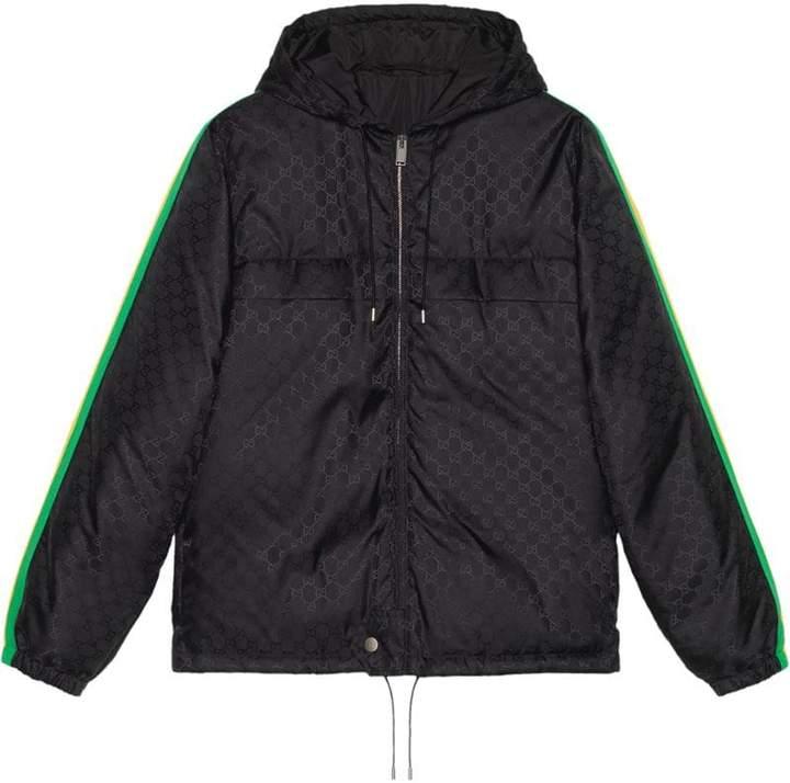 14c8e300ba96 Gucci Mens Gg Nylon Jacket - ShopStyle