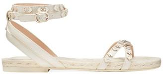 Kate Spade Mai Tai Spade Stud Leather Espadrille Sandals