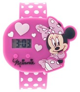 Minnie Mouse Girls' Minne the Mouse Wristwatch - Pink