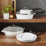 Crate & Barrel Berndes Vario Click White 8-Piece Cookware Set