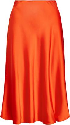 Ralph Lauren Satin Skirt