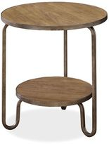Universal Furniture Moderne Muse Bisque Finish Round End Table