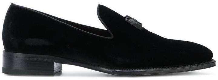 DSQUARED2 logo plaque loafers