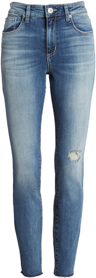 Thumbnail for your product : STS Blue Ellie Distressed High Waist Skinny Jeans