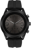 Kenneth Cole Reaction Men's Chronograph Black Silicone Strap Watch 47mm 10030939