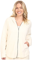 Yummie by Heather Thomson Plus Size Baby French Terry Zip-Up Hoodie