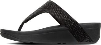 FitFlop Lottie Shimmercrystal Toe-Post Sandals