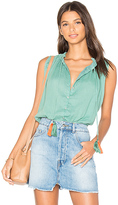 Carolina K. Miranda Blouse in Green