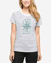 '47 Women's Seattle Mariners Sparkle Stripe T-Shirt