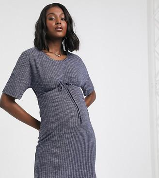 Mama Licious Mama.Licious Mamalicious waist tie drop waist dress