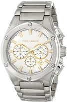 Vince Camuto Men's VC/1065SVSV The Dyver Chronograph Silver-Tone Bracelet Watch