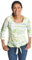 Chico's Tali Tie-Front Tee