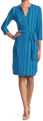 Donna Morgan Jersey Shirt Dress